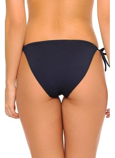 Reflections Mix Match Yandan Bağlamalı Düz Bikini Alt Lacivert